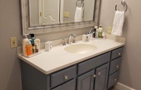 Bathroom Vanity After Remodeling In Hampton